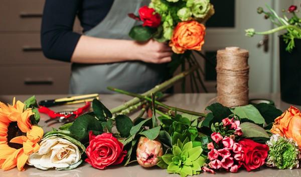 Création de bouquets
